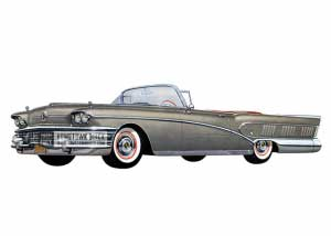 1958 Buick Roadmaster Limited Convertible - Model 756 HB