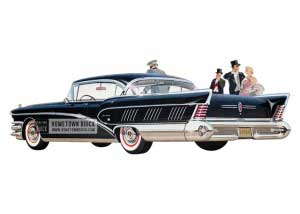 1958 Buick Roadmaster Limited Riviera - Model 750 HB