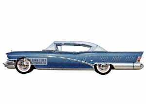 1958 Buick Roadmaster Limited Riviera - Model 755 HB