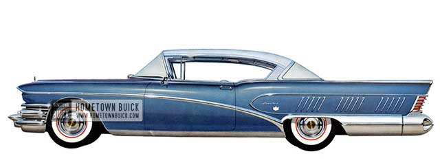 1958 Buick Roadmaster Limited Riviera - Model 755
