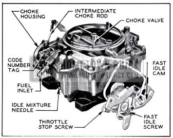 1958 Buick Rochester 4 Barrel Carburetor
