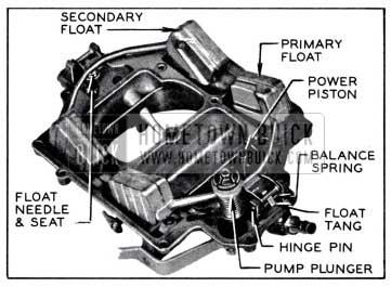 1958 Buick Rochester Carburetor Air Horn Parts