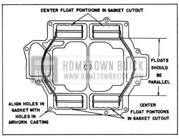 1958 Buick Rochester Carburetor Float Alignment