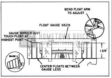Superb 1958 Buick Rochester Carburetor Float Level Adjustment Hometown Buick Wiring Cloud Usnesfoxcilixyz