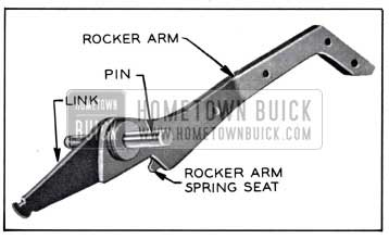 1958 Buick Rocker Arm, Pin, and Link