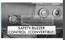 1958 Buick Safety-Buzzer