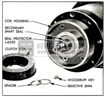 1958 Buick Secondary Shaft Seal and Protector