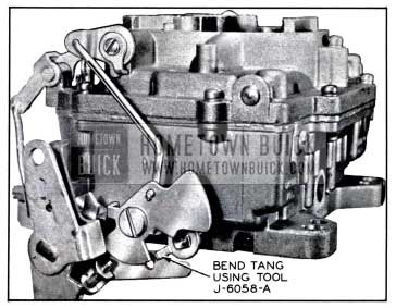 1958 Buick Secondary Throttle Lock-Out Adjustment