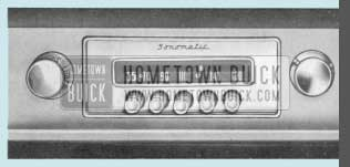 1958 Buick Sonomatic Radio