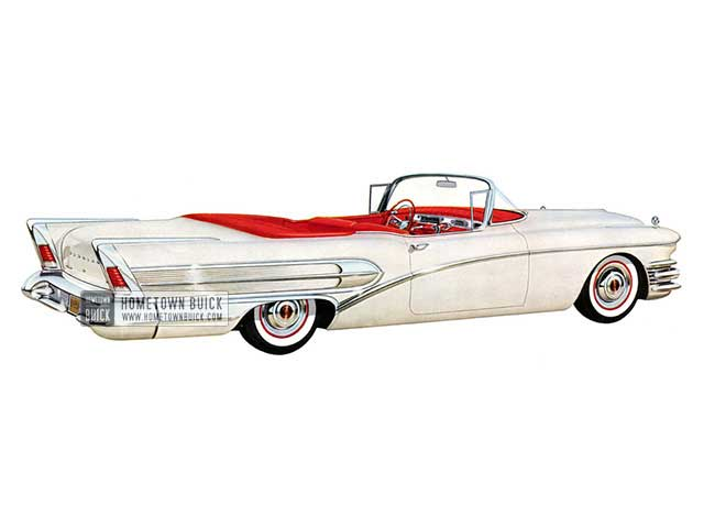 1958 Buick Special Convertible - Model 46C HB
