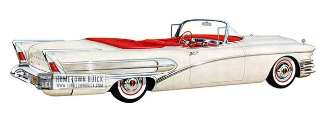 1958 Buick Special Convertible - Model 46C
