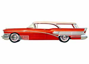 1958 Buick Special Riviera Estate Wagon - Model 49D HB