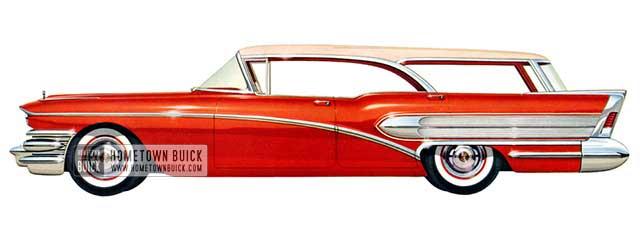 1958 Buick Special Riviera Estate Wagon - Model 49D