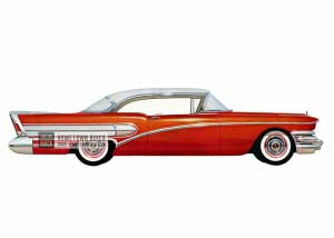 1958 Buick Special Riviera - Model 46R HB