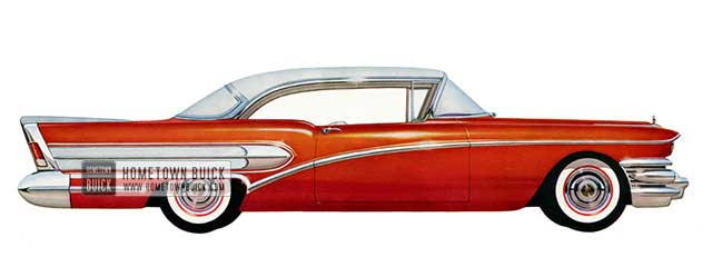 1958 Buick Special Riviera - Model 46R