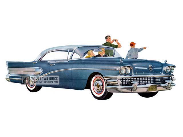 1958 Buick Special Riviera Sedan - Model 43 HB