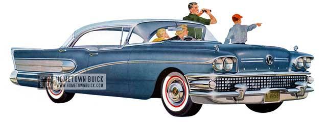 1958 Buick Special Riviera Sedan - Model 43