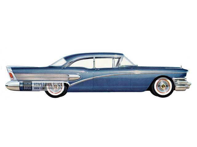 1958 Buick Special Sedan - Model 41 HB