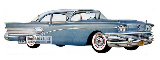 1958 Buick Special Sedan - Model 48