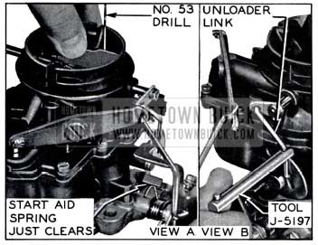 1958 Buick Start Aid Adjustment