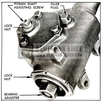 1958 Buick Steering Gear Adjustments
