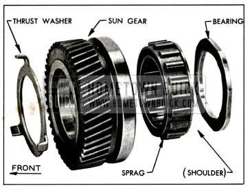1958 Buick Sun Gear Parts