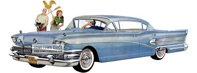 1958 Buick Super Riviera - Model 53