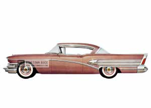 1958 Buick Super Riviera - Model 56R HB