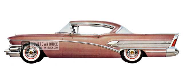 1958 Buick Super Riviera - Model 56R