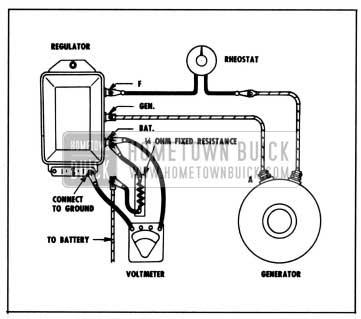 1958 Buick Testing Voltage Regulator