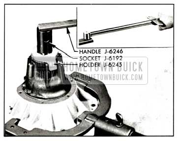 1958 Buick Tightening Pinion Nut
