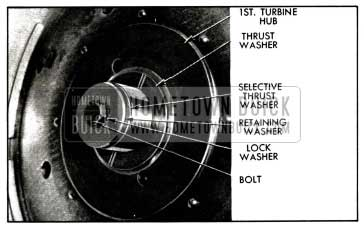 1958 Buick Turbine Retaining Washer and Thrust Washer
