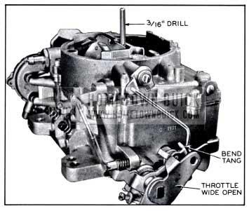 1958 Buick Unloader Adjustment