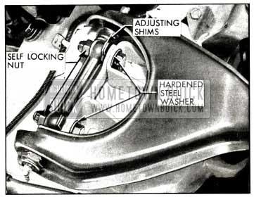 1958 Buick Upper Control Arm Shims