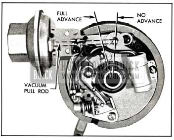 1958 Buick Vacuum Advance Mechanism