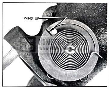 1958 Buick Valve Thermostat Wind-Up