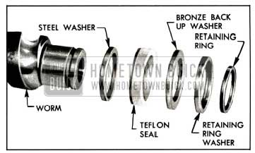 1958 Buick Worm Seal Assembly