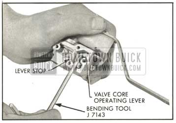 1959 Buick Adjusting Core Travel