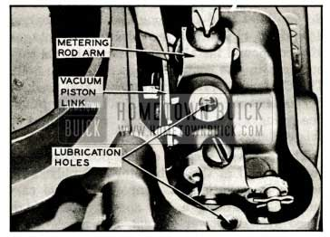 1959 Buick Adjusting Metering Rods