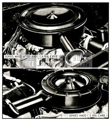 1959 Buick Air Cleaner and Silencer Assemblies
