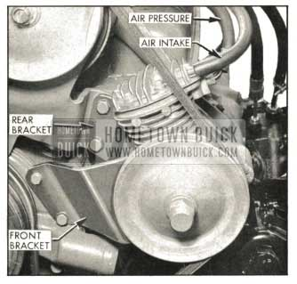 1959 Buick Air Compressor Mounting