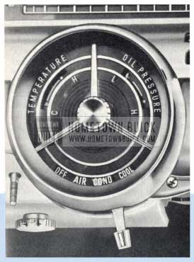 1959 Buick Air Conditioner Controls