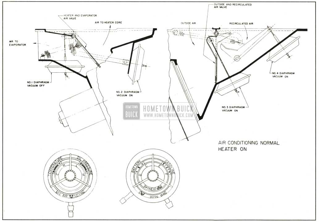 Buick Air Conditioning Normal Heater On on 1996 buick skylark fuse box diagram