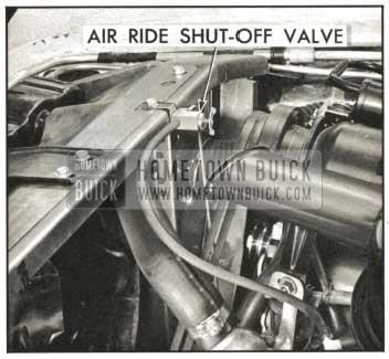 1959 Buick Air Ride Shut Off Valve