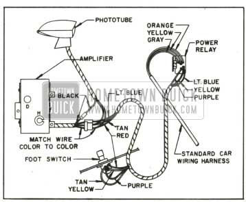 1959 Buick Autronic-Eye Circuit Diagram