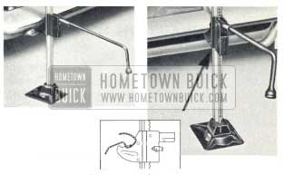 1959 Buick Bumper Jack Instructions