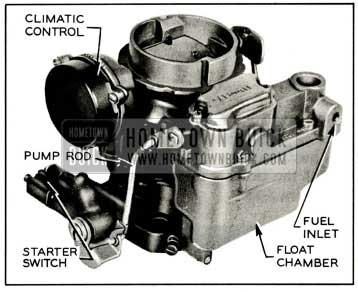 1959 Buick Carter WGD Carburetor Assembly