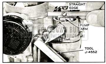 1959 Buick Checking and Adjusting Pump
