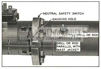 1959 Buick Checking Neutral Safety Switch Timing