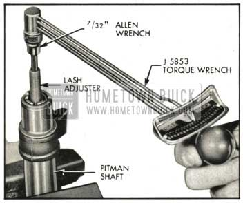 1959 Buick Checking Torque on Lash Adjuster
